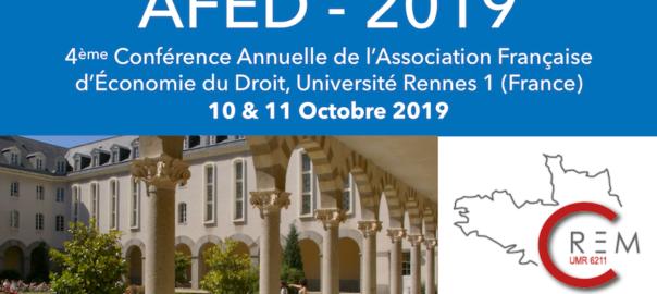 AFED – 4ème conférence, Rennes