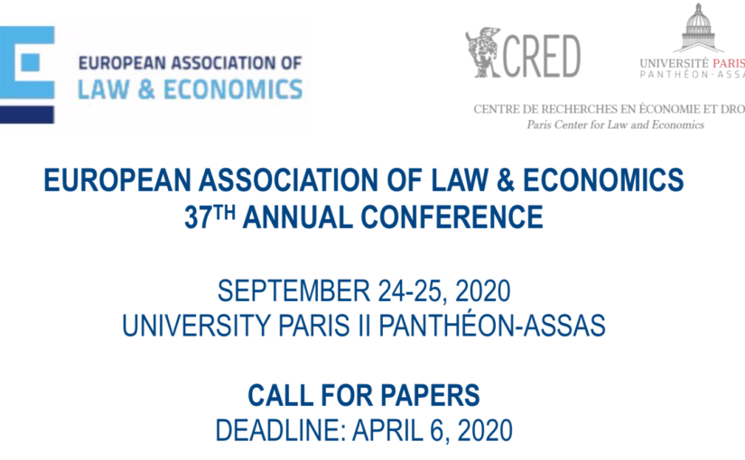 37th Annual Conference of the European Association of Law & Economics